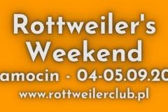 Rottweiler's Weekend